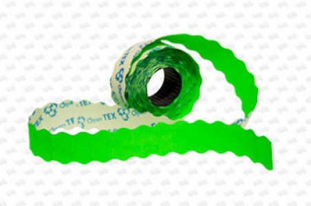 Этикет-лента 26х16х1000 волна, цветная