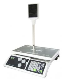 Торговые настольные весы M-ER 326ACP LED